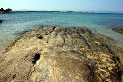 Küsteansicht Stockfoto