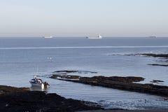 Küsteansicht von Margate in England Lizenzfreie Stockfotos