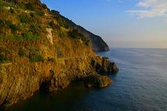 Küsteklippe Lizenzfreies Stockfoto