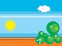 Küstelandschaft vektor abbildung