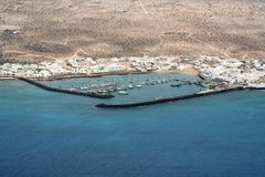 Küstelandschaft lizenzfreies stockbild