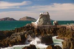 Küsten übersehen Sie bei Mazatlan Mexiko stockbild