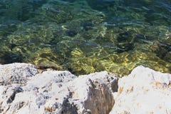 Küsten-adriatisches Meer Lizenzfreie Stockfotografie