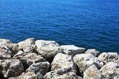 Küsten-adriatisches Meer Stockbilder