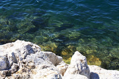 Küsten-adriatisches Meer Lizenzfreie Stockbilder