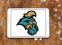 Küsten-Carolina Chanticleers-Logo lizenzfreies stockfoto