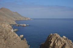 Küsten-Chile bei Pisagua Stockfoto