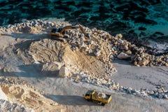 Küsten-Entwicklung Stockbilder