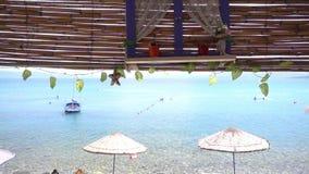 Küsten-Feiertag und Pike stock video