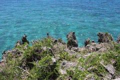 Küsten-Felsen Stockbild
