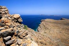 Küsten-Griechenland, schönes Bild von Griechenland lizenzfreie stockfotografie