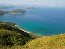 Küsten- Landschaft in Ost-Hong Kong lizenzfreies stockfoto