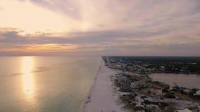 Küsten-Ozean USA, Florida stock video footage
