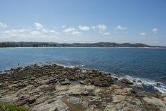 Küsten in Terrigal-Strand stockfoto