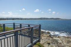 Küsten in Terrigal-Strand stockbild