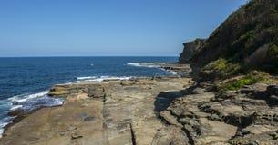 Küsten in Terrigal-Strand stockbilder