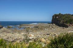 Küsten in Terrigal-Strand lizenzfreie stockfotografie