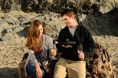 Küsten-Wein Stockfotografie