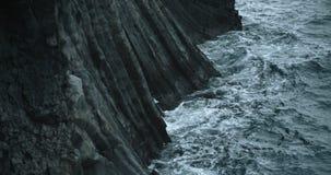 Küstenansicht, Hellnar, Island stock video