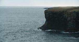 Küstenansicht, Hellnar, Island stock footage