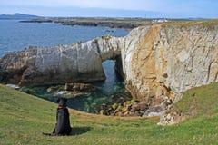 Küstenansichten Lizenzfreies Stockbild