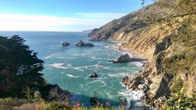 Küstenbucht Stockfotos