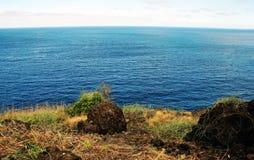 Küstenflusssteine Lizenzfreie Stockfotografie