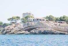 Küstengeomorphologie Mallorca Stockfotos