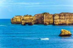 Küsteninseln - Felsen Stockbilder