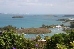 Küsteninseln von Bermuda. Stockfoto