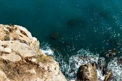 Küstenklippe Lizenzfreies Stockfoto