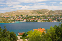 Küstenlandschaft, Kroatien Stockbild