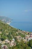 Küstenlandschaft, Sizilien, Italien Stockfotos