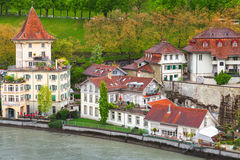 Küstenlandschaft von Bern, die Schweiz Stockfoto