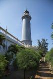 Küstenleuchtturm für Schiffe Lizenzfreie Stockfotos