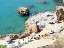 Küstenlinie in Anatolia Stockbild