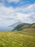 Küstenlinie auf Achill Insel, Irland Stockfotografie
