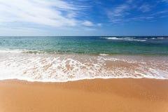Küstenlinie Brisbanes, Australien Lizenzfreies Stockfoto