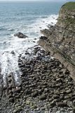 Küstenlinie in der Grafschaft Kerry Lizenzfreies Stockbild
