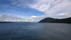 Küstenlinie des Britisch-Columbia Lizenzfreies Stockfoto