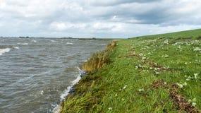 Küstenlinie des hollands Sees Lizenzfreies Stockbild