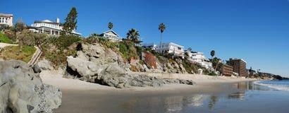 Küstenlinie des Laguna Beach, Kalifornien Lizenzfreie Stockbilder
