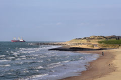 Küstenlinie des Leerens Stockbilder