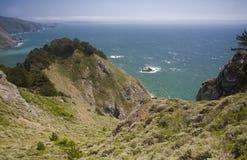 Küstenlinie-Dunst Stockbilder