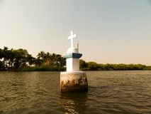 Küstenlinie Goa Indien stockfotografie