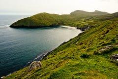 Küstenlinie in Irland Stockbild