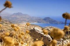 Küstenlinie in Kreta Stockfotografie