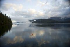 Küstenlinie mit 247 Britisch-Columbia Lizenzfreie Stockfotografie