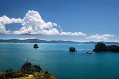Küstenlinie nahe Hahei Lizenzfreie Stockfotos