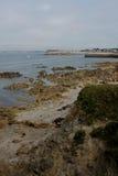 Küstenlinie nahe Quiberon, Bretagne, Frankreich Lizenzfreies Stockfoto